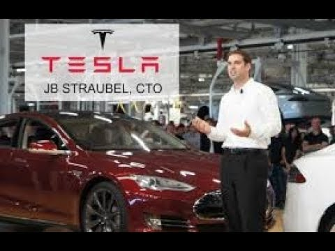 Tesla Cto JB Straubel, Gcep Research Symposium Stanford global climate n energy  Oct. 17, 2017