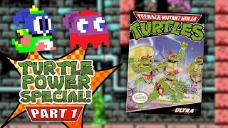Teenage Mutant Ninja Turtles (NES) - Turtle Power Special! (feat. Jordan) - Episode 1
