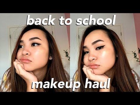 HUGE Back To School Makeup Haul: korean beauty, sephora, kylie cosmetics, +more!