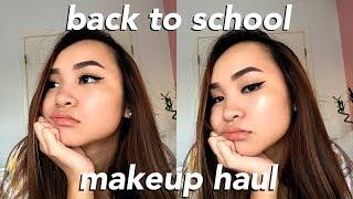 Video HUGE Back To School Makeup Haul: korean beauty, sephora, kylie cosmetics, +more! download MP3, 3GP, MP4, WEBM, AVI, FLV Oktober 2017