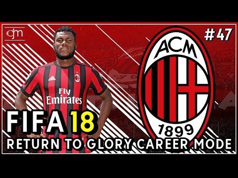FIFA 18 AC Milan Career Mode: Dua Pertandingan Besar Lawan Lazio & Borussia Dortmund #47