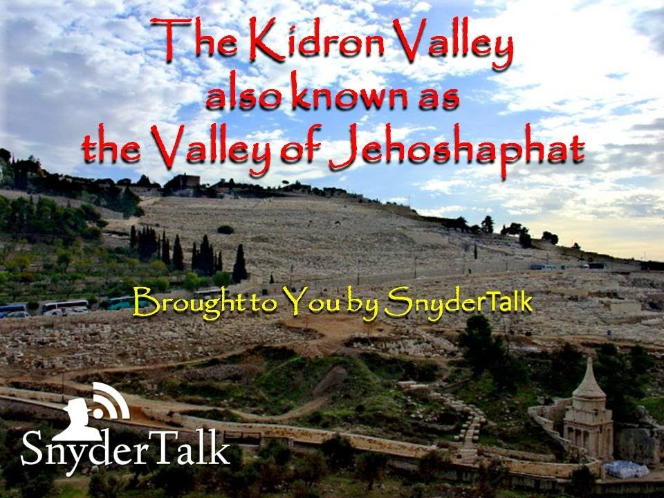 Image result for valley of jehoshaphat