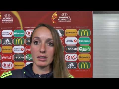 Kosovare Asllani after Sweden - Italy on 25.07.2017