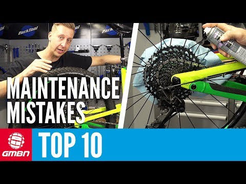 10 Mountain Bike Maintenance Mistakes To Avoid