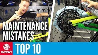10 Mountain Bike Maintenance Mistakes To Avoid