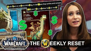 Can A Mount Be Worth 500 And What Is The Darkness Code Pathfinder Trouble In WoW News