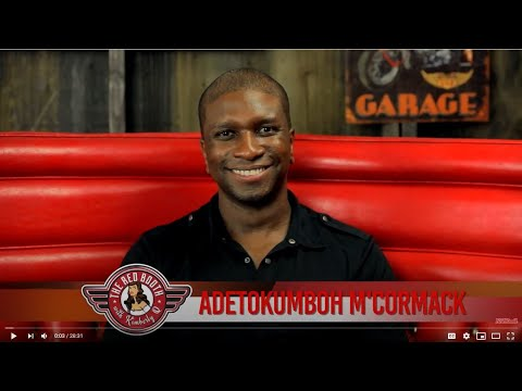 Get to know Adetokumboh M'Cormack on The Red Booth