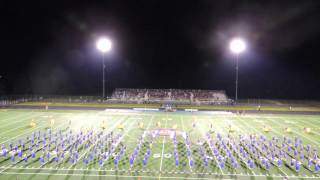 OOHS Marching Band 8-29-14