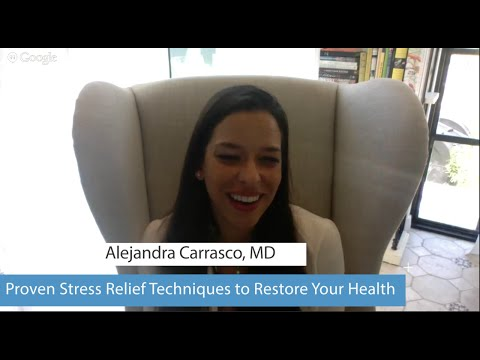 Relaxation tips to relieve stress w/ Dr. Alejandra Carrasco