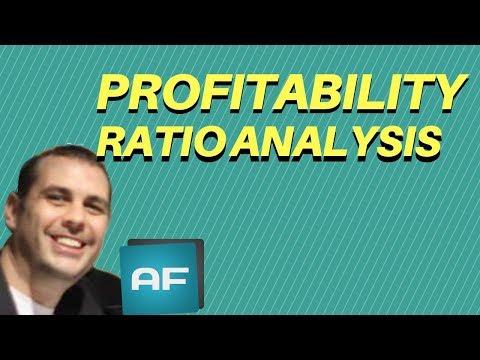 Profitability Ratio Analysis: Financial Ratio Analysis