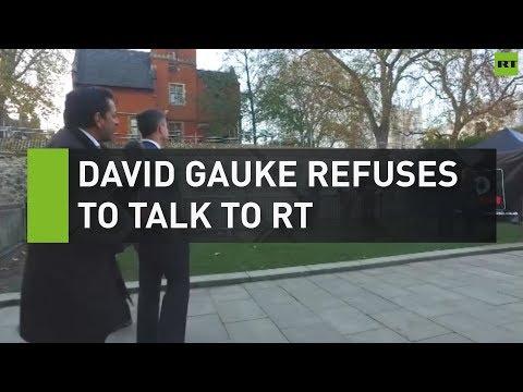 David Gauke refuses to speak to RT