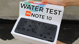 Xiaomi Mi Note 10 Water Test Waterproof CC9 Pro