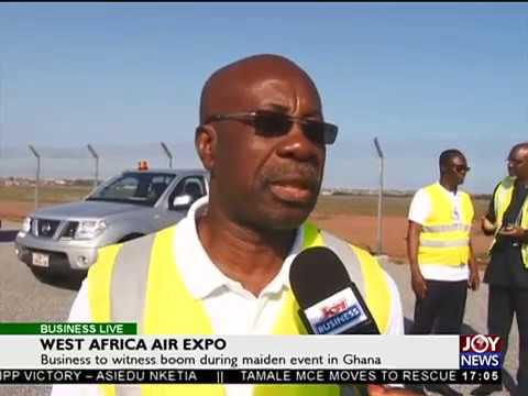 West Africa Air Expo - Business Live on JoyNews (26-9-17)