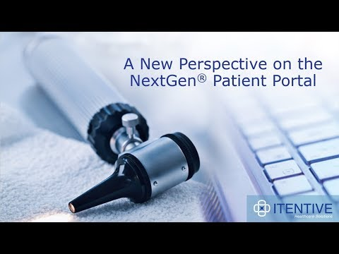 A New Perspective On The NextGen Patient Portal