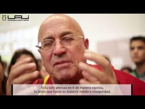 """Matthieu Ricard, el monje budista considerado el """"hombre más feliz del mundo"""" visita la UAI"""
