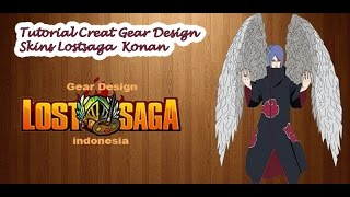Tutorial Creat Gear Design Skins Lostsaga  Konan