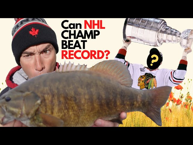 GIANT SMALLMOUTH BASS 31LB + BAG? Smallmouth Record Again ? | Giant Fish Day with NHL Pro!