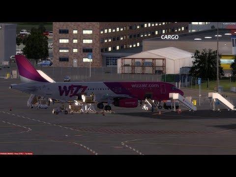 [Prepar3D V4.5 | FSCloud | Full Flight] Off To The Home Base | WZZ25/W62869 | LOWW-EDDW