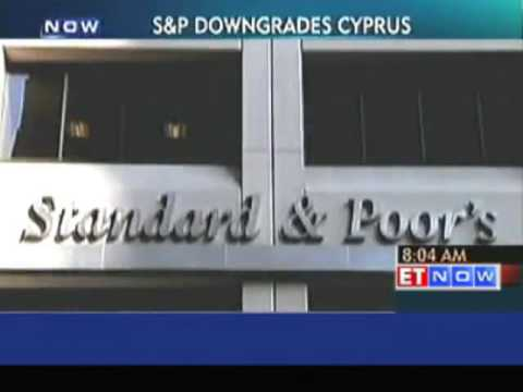 """S&P cuts Cyprus Credit Rating One Notch to """"CCC"""""""