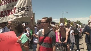 Undercover APD officer secretly films protestors