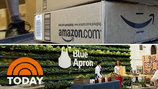 Amazon Reportedly Looking To Compete With Blue Apron | TODAY
