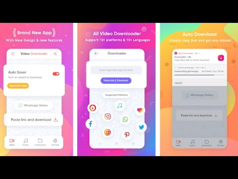 All Video Downloader Pro Without WaterMark II Any Video Downloader - Free download - YouTube