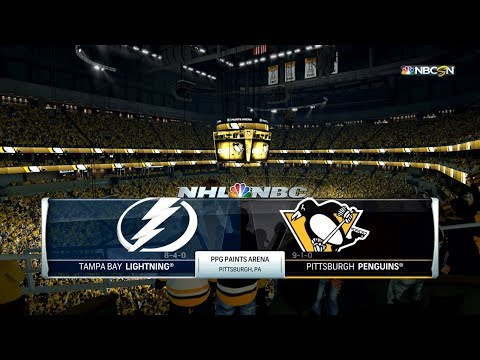 NHL 18 (PS4) - 2017-18 - Eastern Conference Final Game 2 vs Lightning