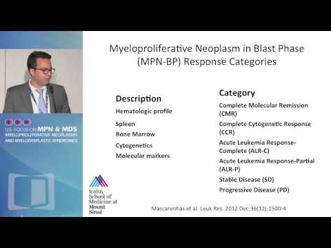 MPN Transformation to MDS and AML: Risk Factors, Therapy, and Outcomes