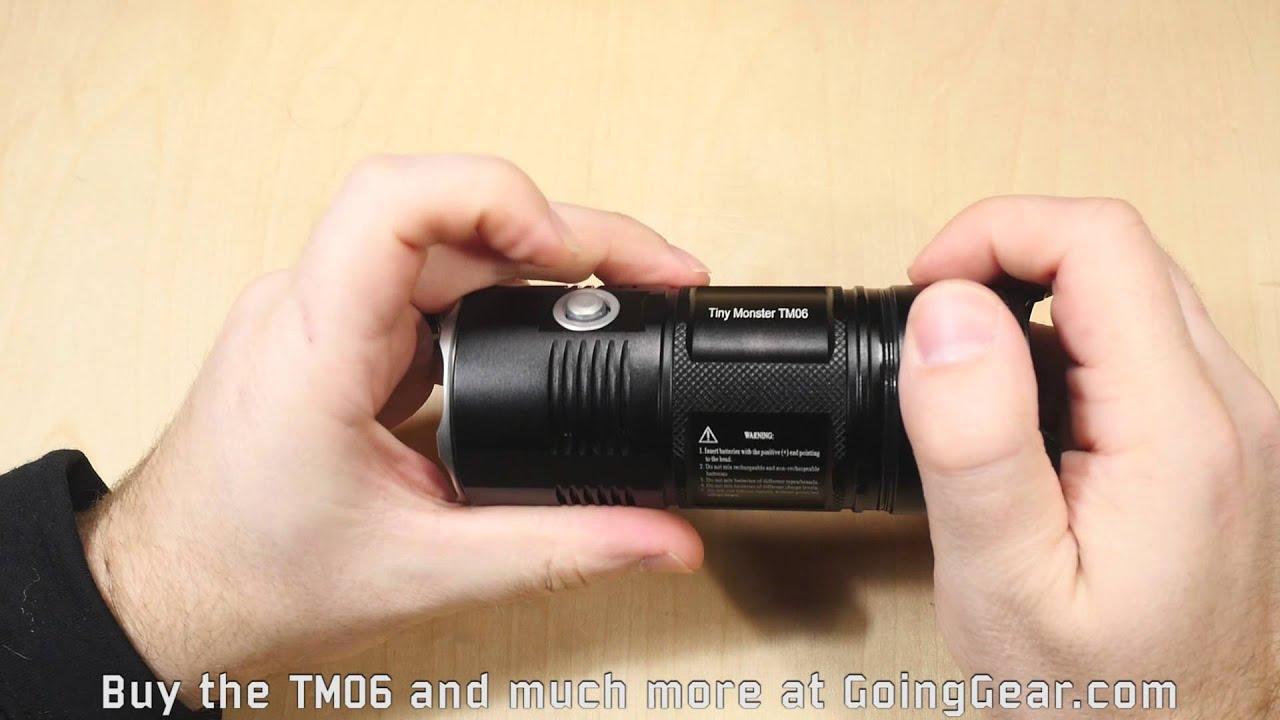 Nitecore TM06 Tiny Monster Flashlight Extended Review ...