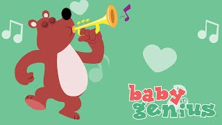 Vinko the Dancing Bear | Nursery Rhyme Cartoons for Kids | Baby Genius