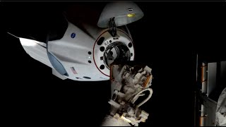 SpaceX Crew Dragon 'Endeavour' docks with space station