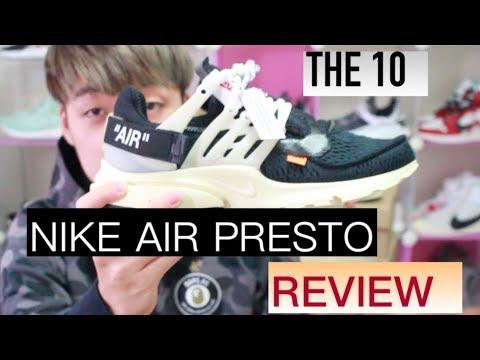 小馬球鞋介紹 我抽中原價off White魚骨鞋 Nike X Off White The10 Air Presto