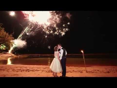 Our Thai wedding at Rockys resort, Koh Samui