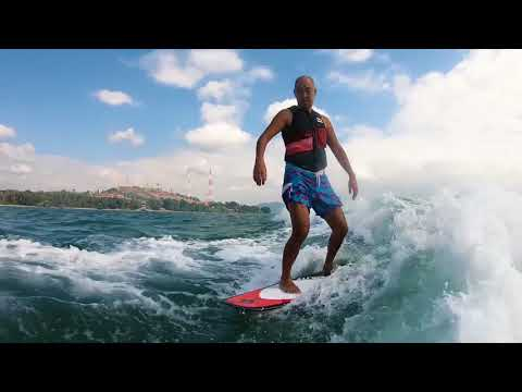 【Wakesurfing】New Attractions!!! International Wake Park-Thailand Phuket-