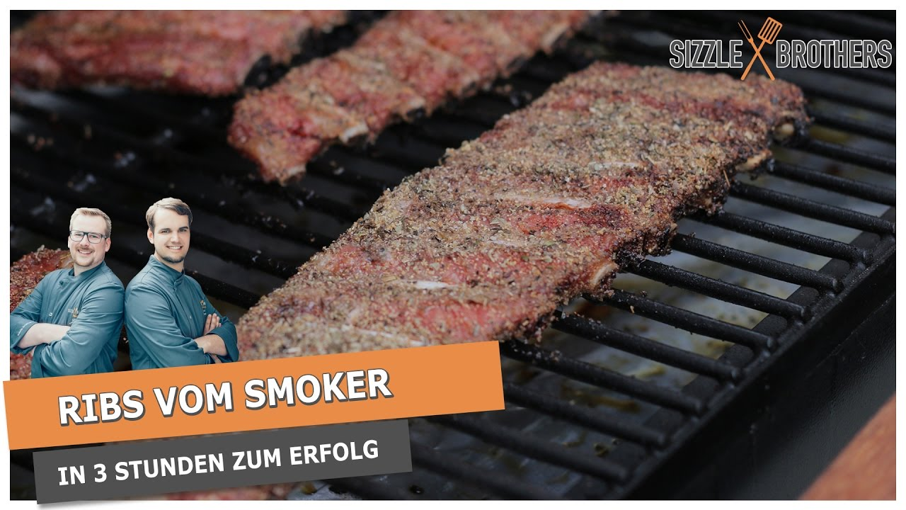 Spareribs Gasgrill Sizzle Brothers : Spareribs vom smoker in stunden perfekte rippchen youtube