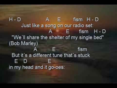 Stay the night (karaoke acoustic cover, James Blunt) chords, lyrics