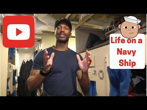 Life On Board A Navy Ship (2019)
