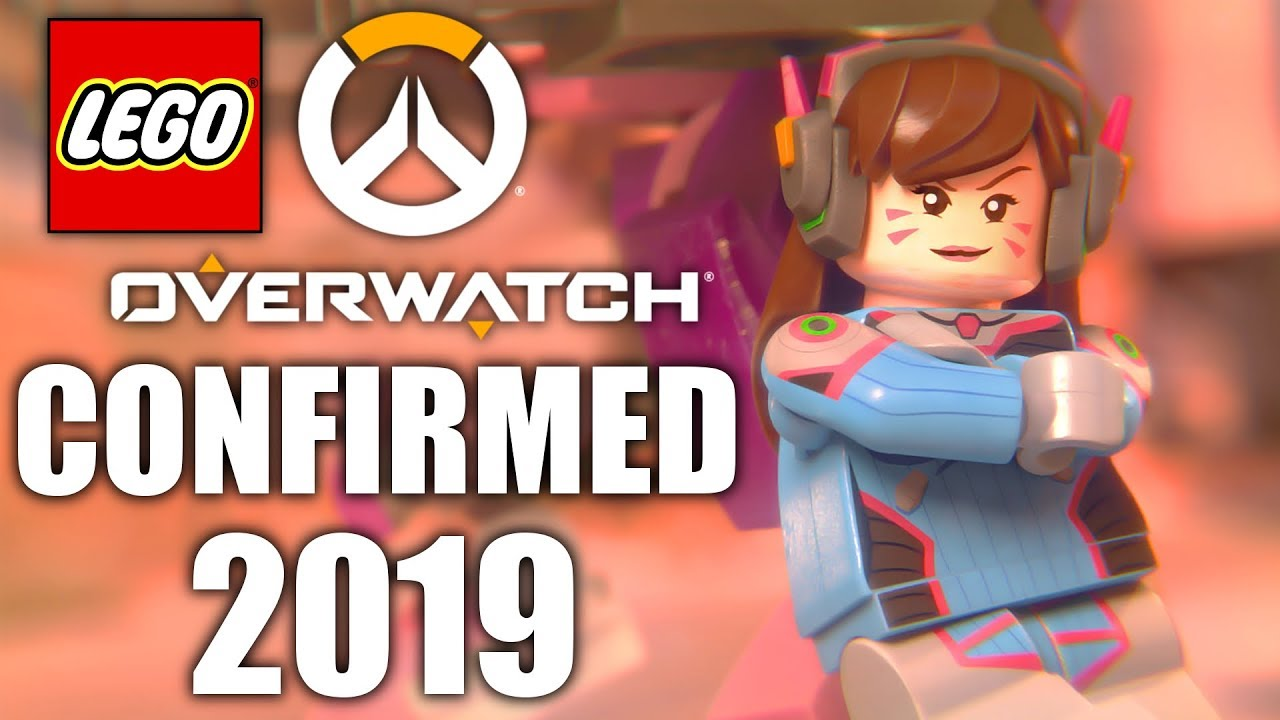 Lego Overwatch Sets Officially Announced 2019 Youtube