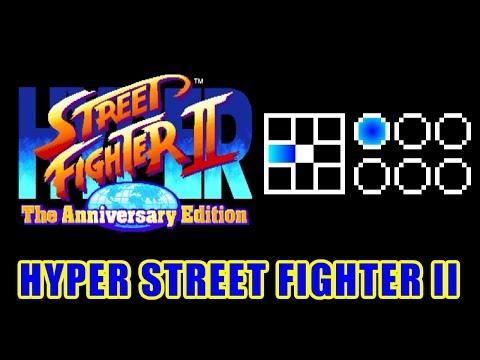 入力を鳥長柄 - HYPER STREET FIGHTER II / ハイパーストリートファイターII