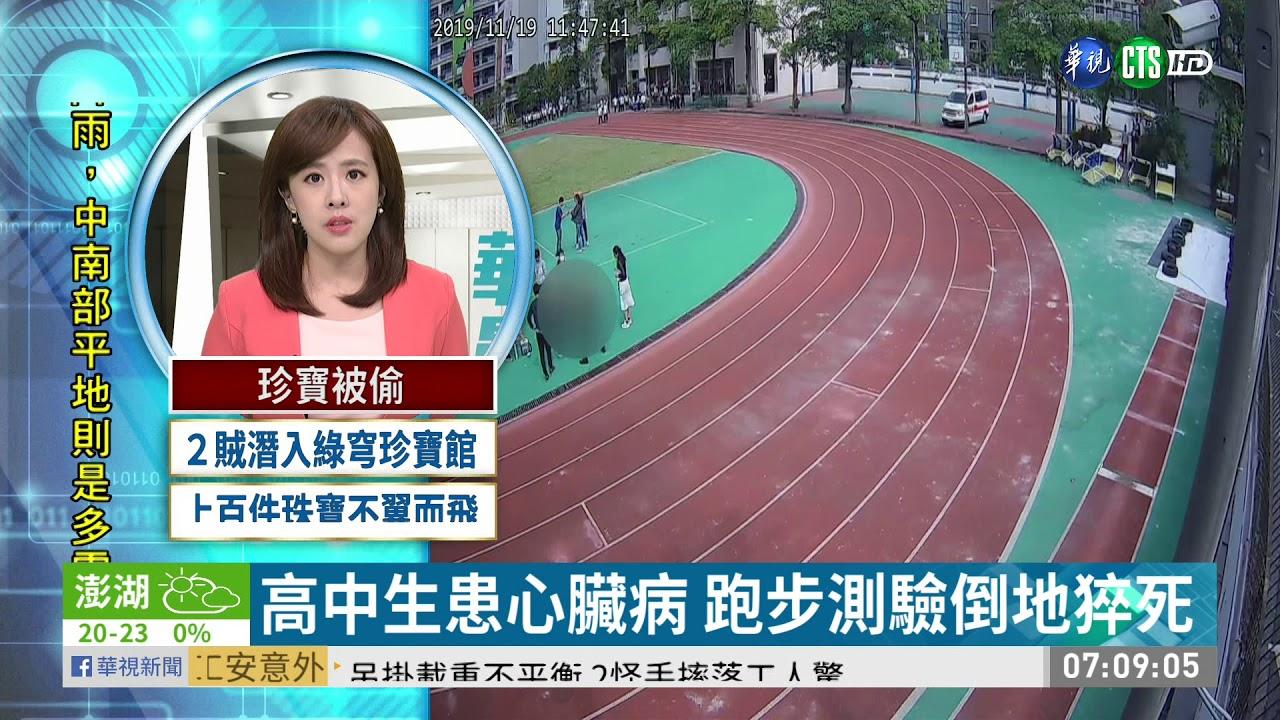 高中生患心臟病 跑步測驗倒地猝死   華視新聞 20191126 - YouTube