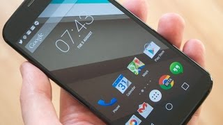 Moto G: Android L 5.0.1 | Google Play Edition Overview