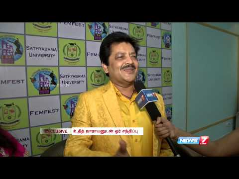 Singer Udit Narayan's exclusive interview to News 7 Tamil