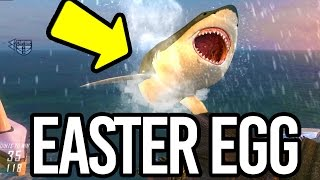 BLACK OPS 2: MEGALODON Easter Egg! (WORLD RECORD) FIRST IN THE WORLD! Giant Shark!