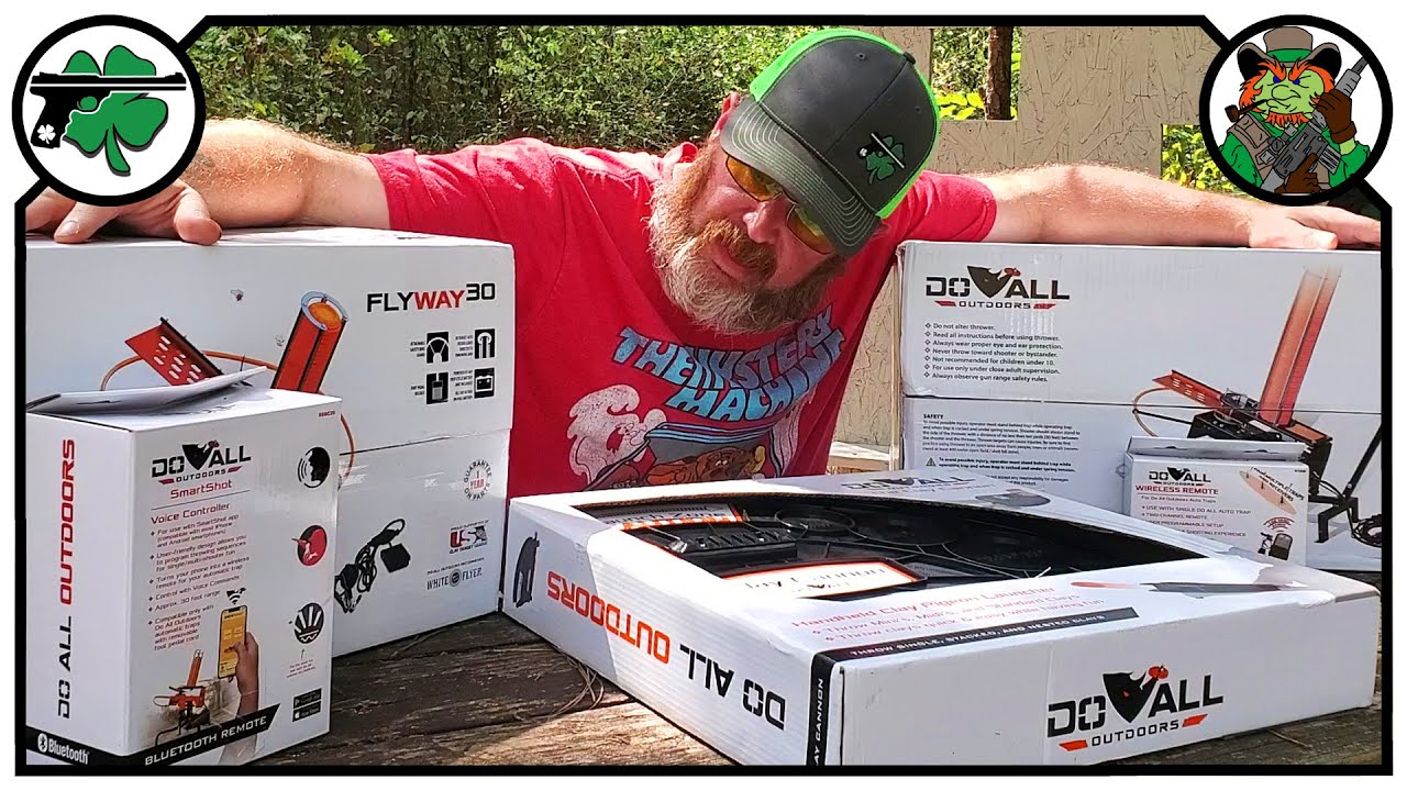 NEW Shotgun Trap Machine, Clay Cannon & More From Do All Outdoors