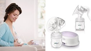 PHILIPS AVENT SINGLE COMFORT SCF 332 ELECTRIC - SACALECHES ELECTRICO | DEMO