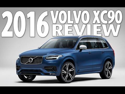 Best Crossover Of 2016 Watch The Volvo Xc90 Review