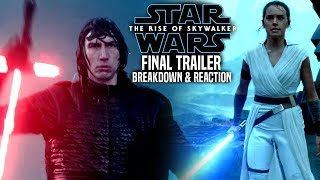 The Rise Of Skywalker Final Trailer Breakdown & Reaction (Star Wars Episode 9 Trailer 3)