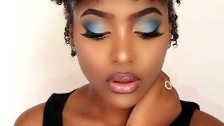 Bold Blue Makeup Tutorial De Ed