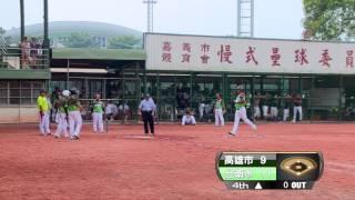 2014全民運動會-台南市慢壘代表隊vs高雄市