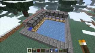 Minecraft: Simple Ice Generator Tutorial